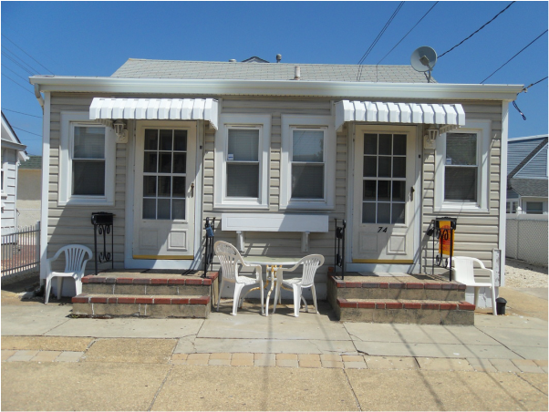 New Jersey Shore Rentals 74 O St Seaside Park Unit A